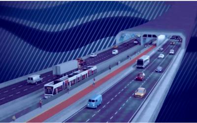 Folha de S. Paulo publica reportagem apontando avanço no projeto do túnel
