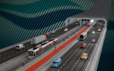 Um ano de boas notícias para o projeto do túnel