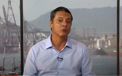 Prefeito de Santos cita a proposta do governo federal de construir o túnel