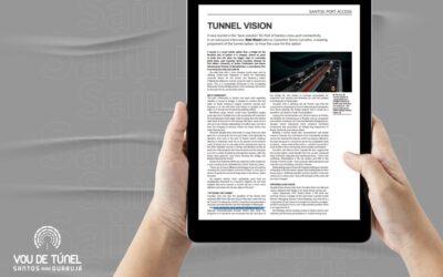 Em revista internacional, vantagens do túnel são destacadas por Casemiro Tércio Carvalho