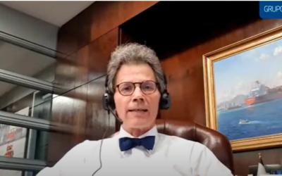 Presidente da maior transportadora do mundo defende o projeto do túnel para o Porto de Santos