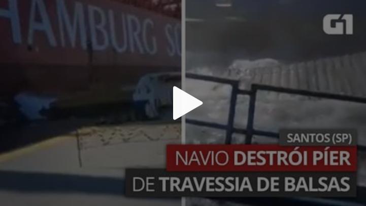 Acidente na travessia Santos-Guarujá reforça a necessidade da construção de túnel imerso