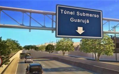 Governo federal recebe moção de apoio ao túnel e garante viabilização financeira do projeto